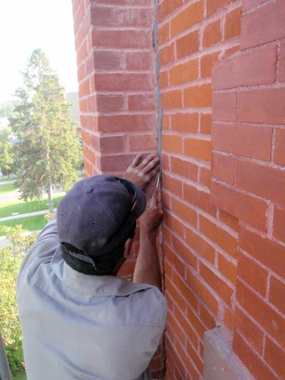 Caulking Concrete Walls : Holmlund masonry restorations